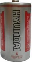 Батарейка Hyundai D R20 солевая 1шт