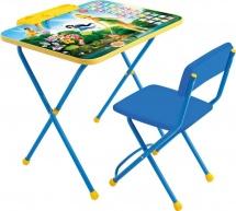 "Набор мебели Ника Disney ""Феи. Азбука"" голубой Д2Ф1"