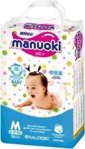 Трусики Manuoki M (6-11 кг) 56 шт