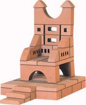 """Конструктор Brickmaster """"Трон"""" керамический 39 эл"""