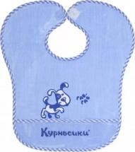 Нагрудник Курносики Собачка с карманом