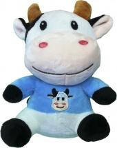 Мягкая игрушка TashaToys Корова с вышивкой 18 см