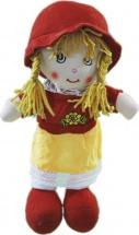 Кукла TashaToys в шляпке и длинной юбке №3 33 см