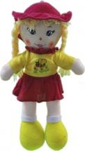 Кукла TashaToys в шляпке с вышитой пчелкой №3 33 см