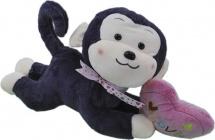 Мягкая игрушка TashaToys Обезьяна с серцем №1 30 см