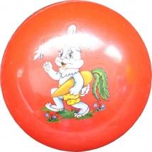 Мяч TashaToys Зайчик 10 см