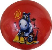 Мяч TashaToys Зверята 10 см