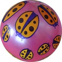 Мяч TashaToys Божья коровка 22 см