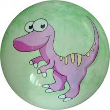 Мяч TashaToys Динозавр 22 см