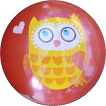 Мяч TashaToys Совушка 22 см