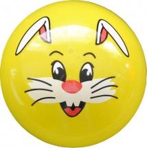Мяч TashaToys Мордашка 22 см