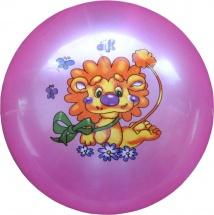 Мяч TashaToys Львенок 22 см