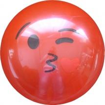 Мяч TashaToys Улыбка 22 см