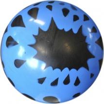 Мяч TashaToys с рисунком 22 см