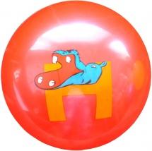 Мяч TashaToys Буквы 25 см