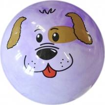 Мяч TashaToys Мордашка 20 см