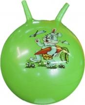 Мяч-попрыгун TashaToys  с рожками 45см