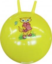 Мяч-попрыгун TashaToys с рожками 60 см