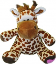 Мягкая игрушка TashaToys Жираф с шарфом 30 см