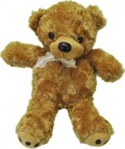 Мягкая игрушка TashaToys Медвежонок с бантиком 20 см