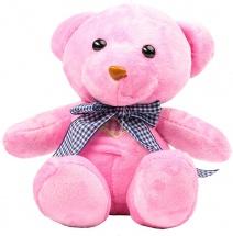 """Мягкая игрушка TashaToys """"Медведь"""" розовый 18 см"""