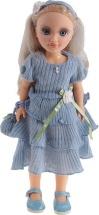 Кукла Весна Анастасия. Голубой ажур со звуком
