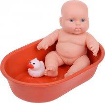 Кукла Весна Карапуз. Девочка в ванночке с игрушкой