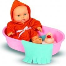 Кукла Весна Карапуз. Мальчик в ванночке с аксессуарами
