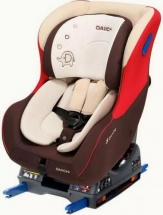 Автокресло Daiichi DualWell Isofix до 18 кг Organic Red