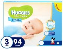 Подгузники Huggies Ultra Comfort для мальчиков 3 (5-9 кг) 94 шт