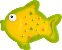 Мини-коврик Valiant Рыбка, желтый