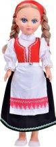 Кукла Весна Анастасия в норвежском костюме со звуком