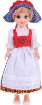 Кукла Весна Анастасия в баварском костюме
