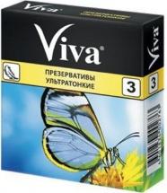 Презерватив Viva ультратонкие № 3