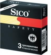 Презерватив Sico SAFETY Классические №3