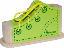 Шнуровка Alatoys Ботинок зеленый