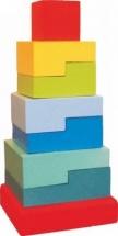 Пирамидка Alatoys Ступеньки №2