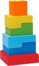 Пирамидка Alatoys Ступеньки №3