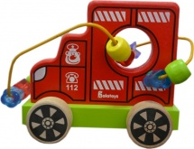Лабиринт-каталка Alatoys Пожарная машина