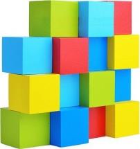 Кубики Alatoys 24 деталей