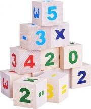 Кубики Alatoys Цифры 12 деталей