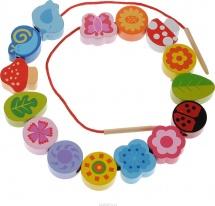 Шнуровка-бусы Mapacha Цветы