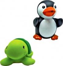 """Игрушки для купания Жирафики """"Черепашка и пингвин"""""""
