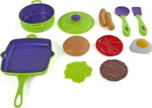 Набор посуды Mary Poppins Учимся готовить 6 предметов
