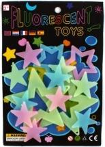 Набор Светлячки - звездочки флуоресцентные