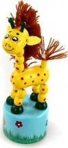 Дергунчик Mapacha Танцующий жираф с гривой