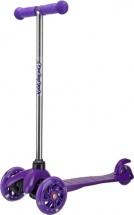 Самокат MobyKids №1 со светящимися колесами фиолетовый