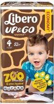 Трусики Libero Up&Go 4 (7-11 кг) 52 шт