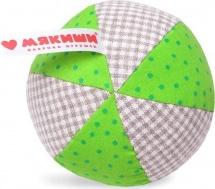 Мячик Мякиши Эко с погремушкой
