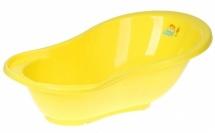 Ванночка Пластик-Центр Ангел 84 см желтая